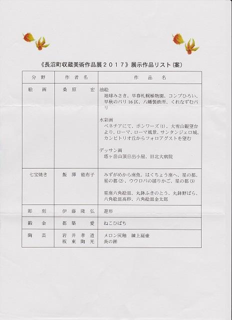 2017、長沼町収蔵リスト 001