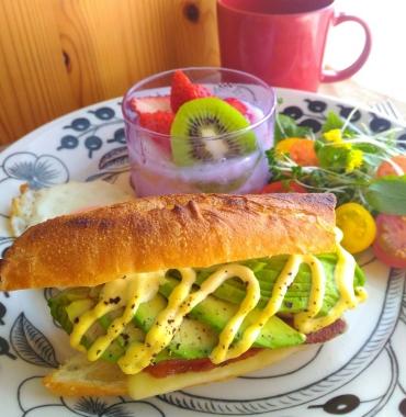 avocado casse-croûte