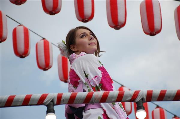 "wor1707160025-p2_浴衣美女が続々 モスクワでコンテスト、""日本の夏""満喫"