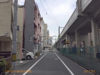 桃前面道路