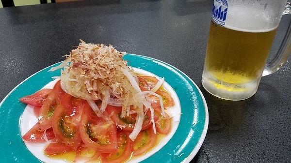 血液サラサラトマトサラダ