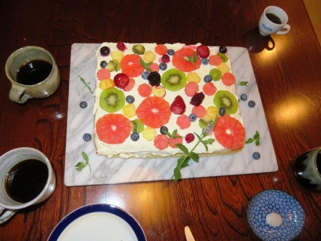 祝いケーキ2