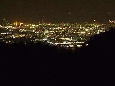 7奈良盆地の夜景