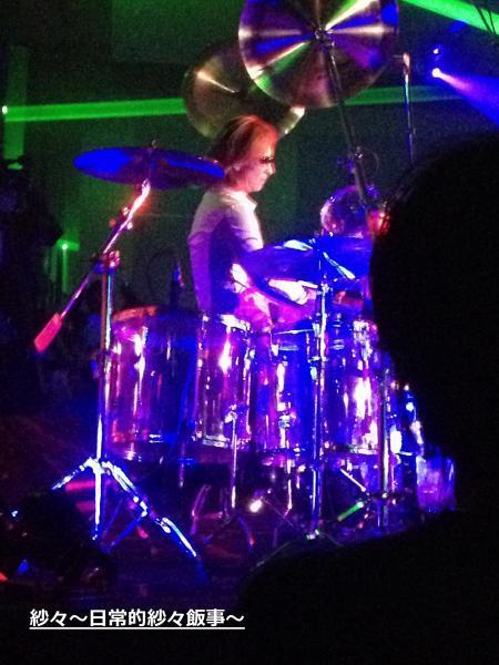 DS YOSHIKIさんドラム