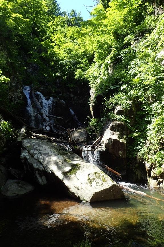 西入沢川大滝2