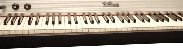 懐かしい Fender Rhodesの鍵盤