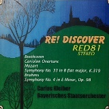 RE! DISCOVER(RED - 81 )クライバー 「コリオラン」、モーツァルト、ブラームス