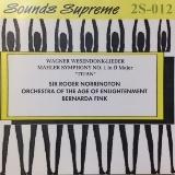 ロジャー・ノリントン 指揮 ジ・エイジ・オヴ・インライトゥンメント・オーケストラ_マーラー 交響曲第1番ニ長調「巨人 」Sounds Supreme(2S-012 )