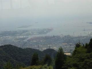 六甲山ホテル眺望