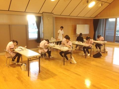 理美容甲子園2017放課後練習ネイルチーム