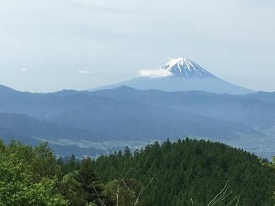 今回の山行は気が付けばいつも富士山が一緒にいてくれました。