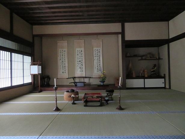 飯島陣屋跡 内部