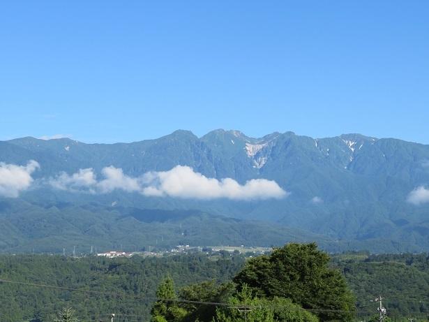 望岳荘からの眺め