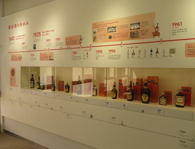 養命酒 展示物