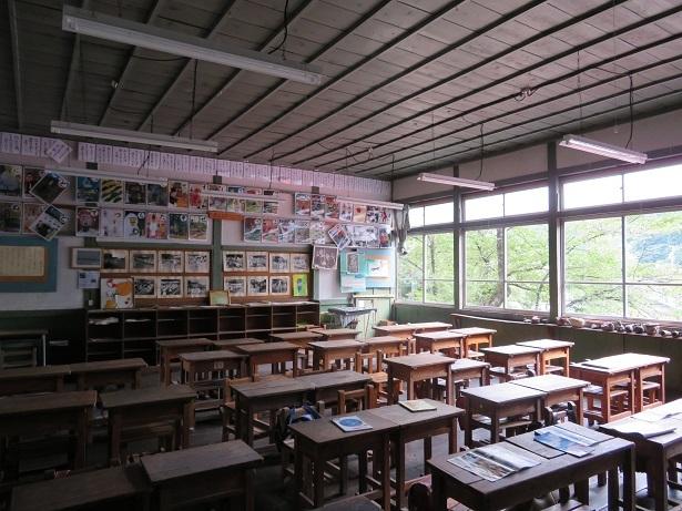 旧木澤小学校教室