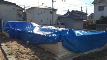 土台敷き (3)