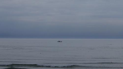 稚咲内海岸船