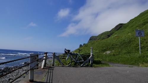 礼文島知床自転車