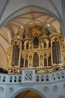 マリーエン教会のパイプオルガン