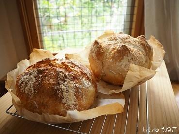 同じ量でパンが2種