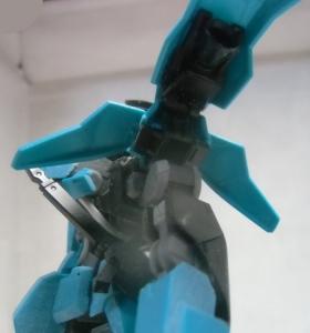 HGグレイズリッター仮組み8