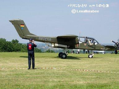 ドイツ空軍のOV10 ブロンコdownsize
