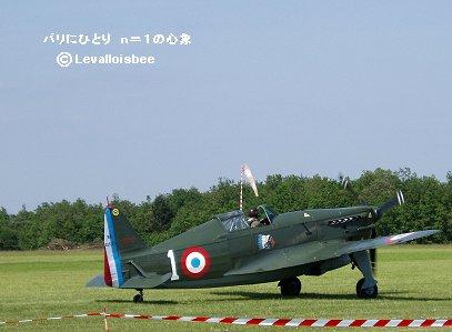 モラーヌソルニエ MS406は当時の仏空軍塗装REVdownsize