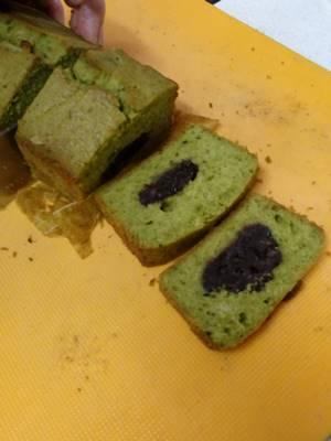 抹茶のパウンドケーキ1