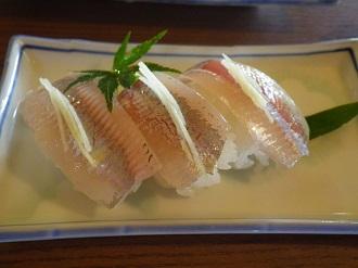鮎の握り鮨