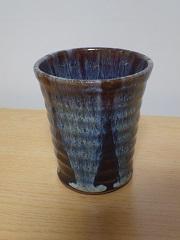 洗馬焼のグラス