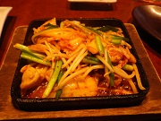 鶏ちゃんキムチ炒め
