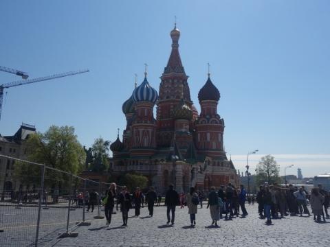 モスクワで感じたこと