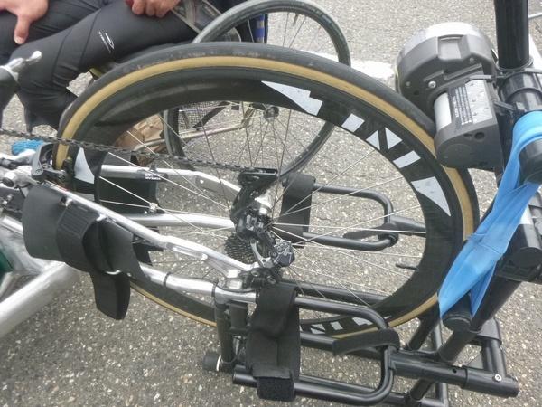 27インチ オーエックスハンドバイク