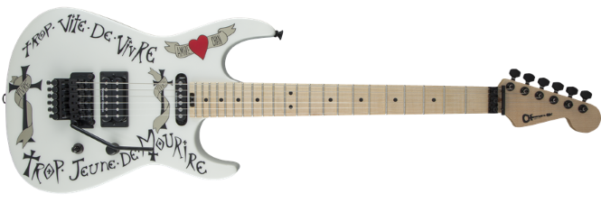 Cahrvel USA Warren DeMartini USA Signature Frenchie White