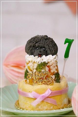 7歳のナッたんケーキはワフさんで☆