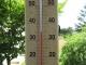 35℃に上がった気温