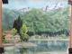 ジイが描いた青木湖