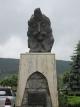 ブラド3世の銅像