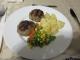 昼食メインの肉団子