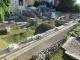 無造作に置かれているローマ遺跡