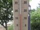 17℃以上にならなかった温度計