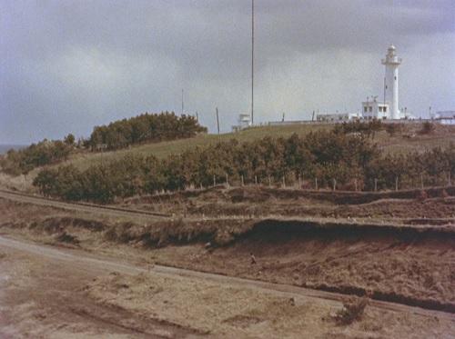当時の鮫角灯台