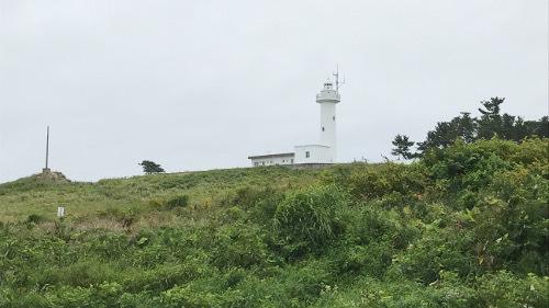 現在の鮫角灯台
