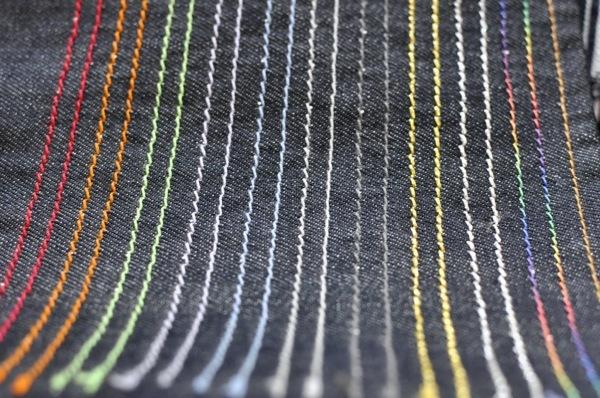 オーダージーンズステッチ糸