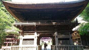 西明寺にて2