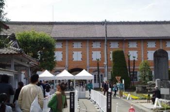 またまた富岡製糸場にて