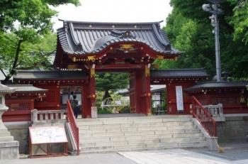 秩父神社にて(*^▽^*)