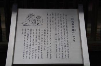 三猿のご説明