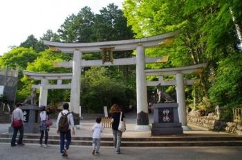 ようやく到着、三峯神社