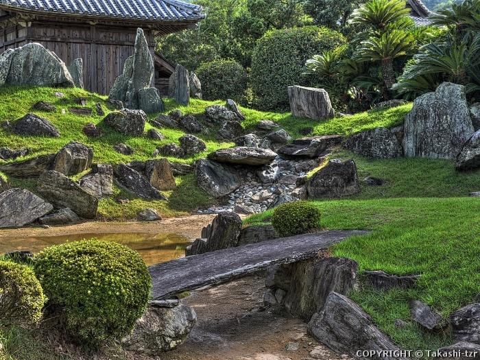 阿波国分寺庭園201609a